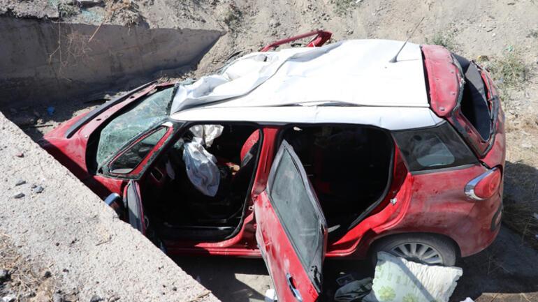 Ankarada feci kaza: Aynı aileden 3 ölü, 1 yaralı