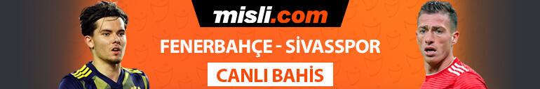Fenerbahçe, Avrupa aşkına Son 3 maçta 1 gol bile atamayan Sivassporun iddaa oranı...