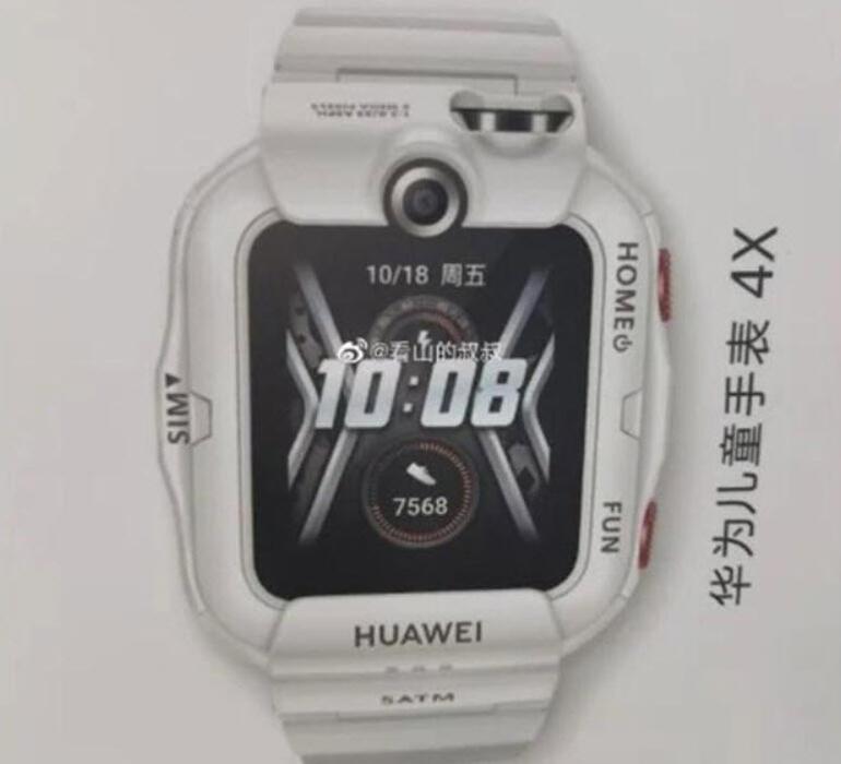 Huaweiden çocuklara özel çift kameralı akıllı saat