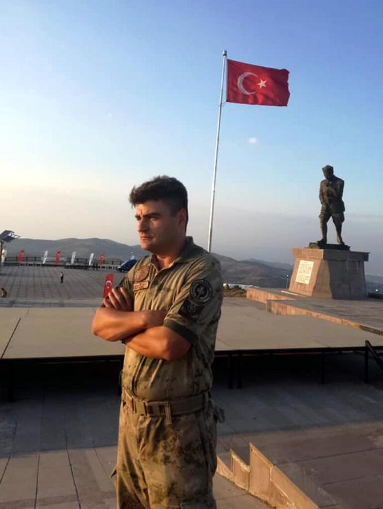 Şehit Halil Tuna Akgöz, son yolculuğuna uğurladı