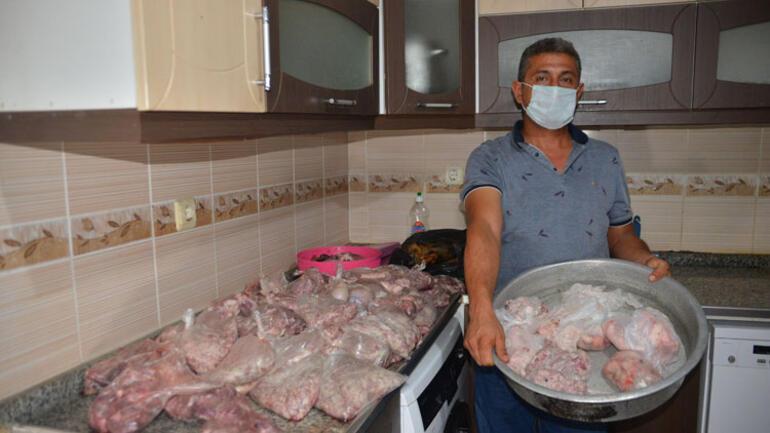 Elektrikler art arda kesildi, kurban etleri çöpe gitti