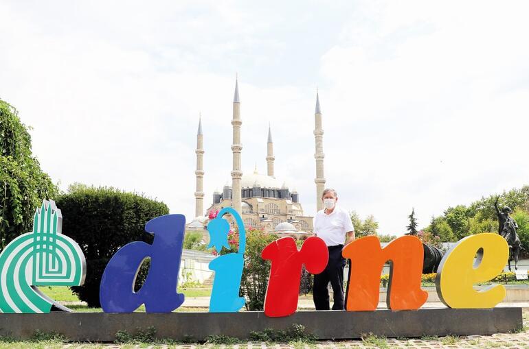 Ailece Edirne'yi gezdiler