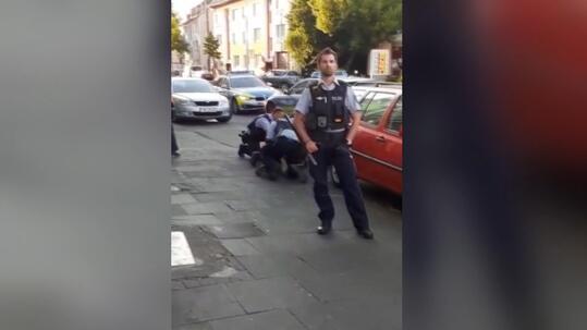 Almanya'da polisin Türk aileyi darbettiği iddia edildi