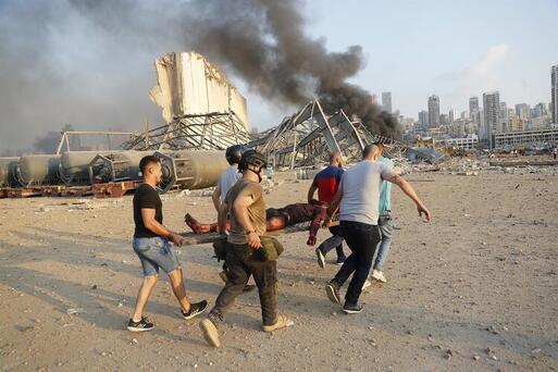 Eski CIA uzmanından Beyrut'taki patlamayla ilgili flaş açıklama Turuncu ateş topuna bakın, bu kesinlikle...