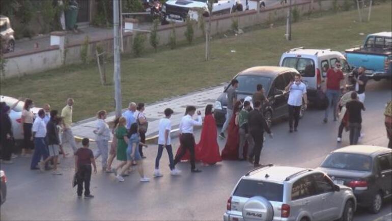 İstanbulda tepki çeken sokak eğlenceleri