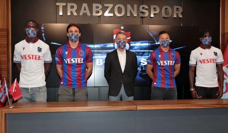 Son Dakika   Trabzonspor, yeni transferleri ile sözleşme imzaladı