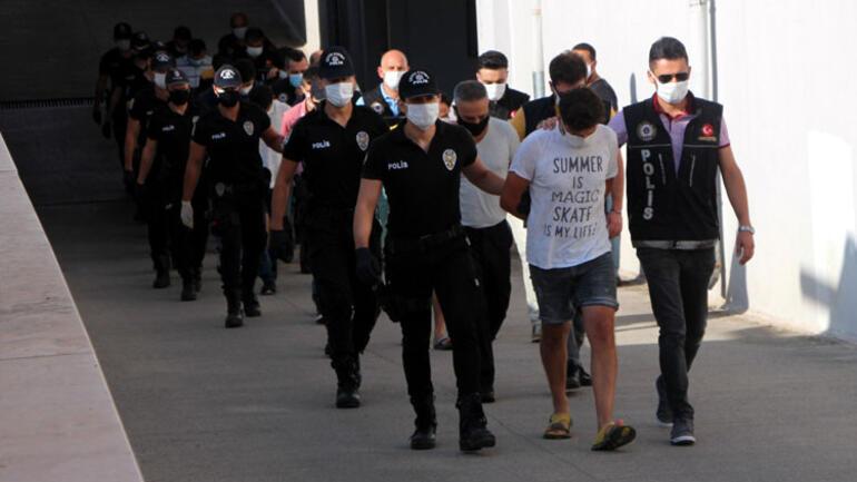 Adana torbacı operasyonu 9 şüpheli tutuklandı
