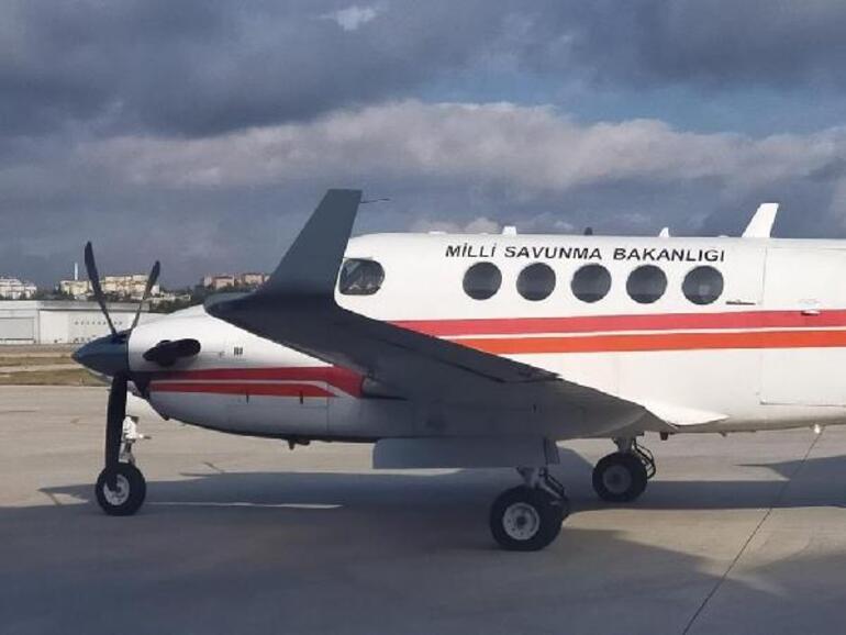 MSB: Uçakla deprem bölgesinin fotoğrafı çekilerek hasar tespiti yapıldı