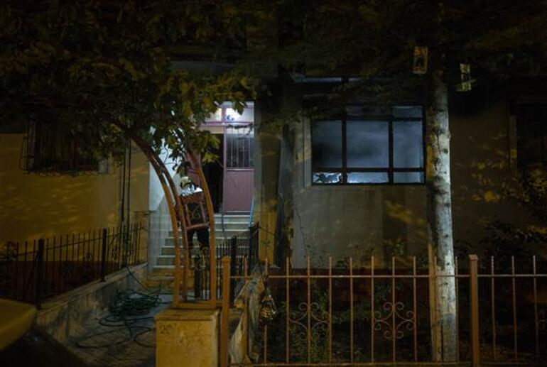 Son dakika haberleri... Ankarada korkutan yangın Kedinin çıkardığı sesler sayesinde kurtuldular
