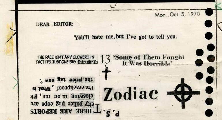 Son dakika haberler... 37 kişinin ölümüne neden olan 'Zodyak'ın şifresini 51 yıl sonra çözebildiler