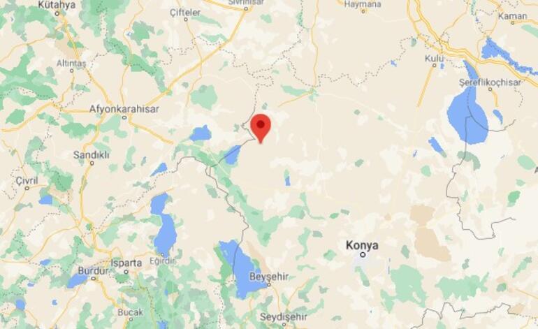 Son dakika: Konyada 4.7 büyüklüğünde deprem Eskişehir ve çevre illerden de hissedildi