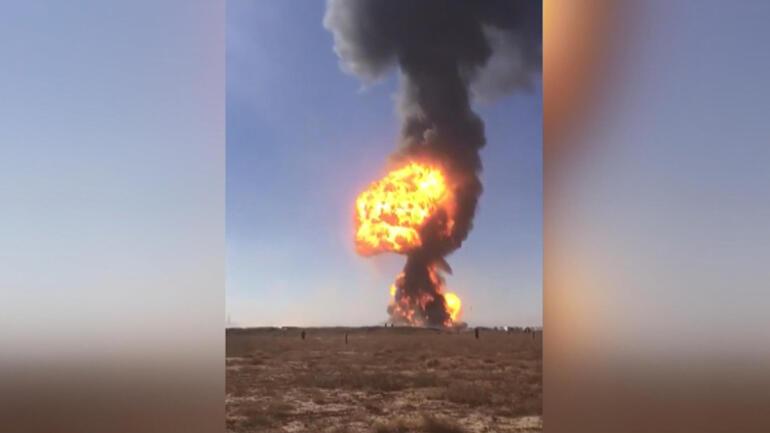 Şoke eden görüntü: 500 tanker bir anda kül oldu