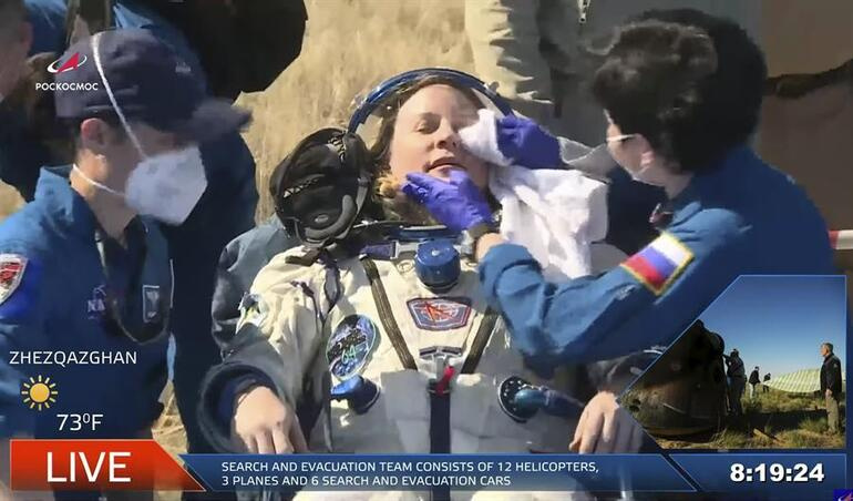 Son dakika haberler... Rusya ve ABD uzaydan birlikte döndü